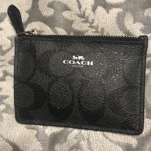 Authentic coach id case/change wallet